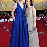 Jane Lynch and her wife Lara Embry look too cute.