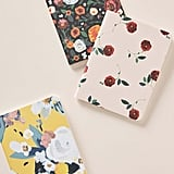 Anthropologie Lena Set of 3 Journals