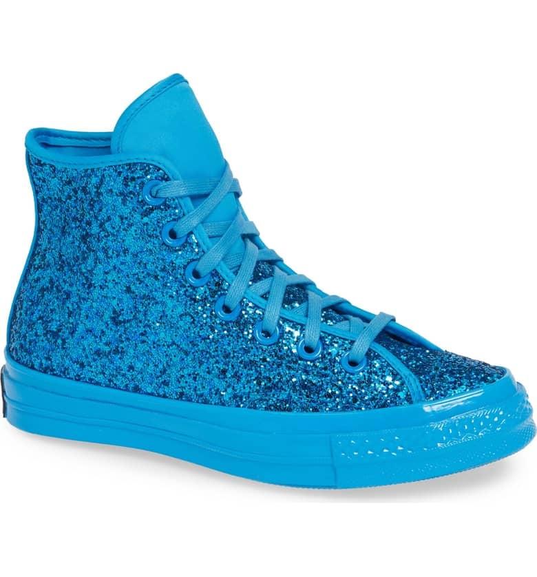 c710e4761f20 Converse Chuck Taylor All Star Glitter High Top Sneaker