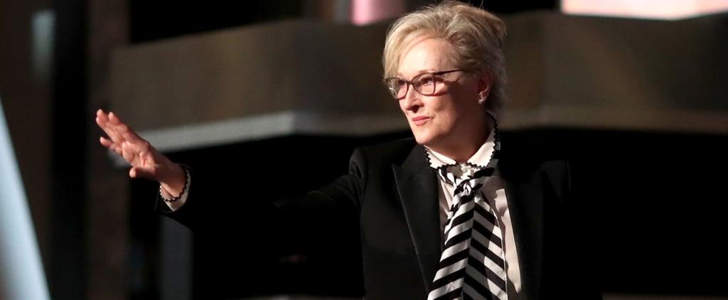 Meryl Streep Response to Rose McGowan Tweets