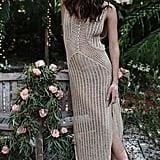 Ailunsnika Crochet Knitted Dress