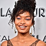Yara Shahidi's Schiaparelli Dress at the Glamour Awards 2019