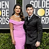 Priyanka Chopra and Nick Jonas at the 2020 Golden Globes