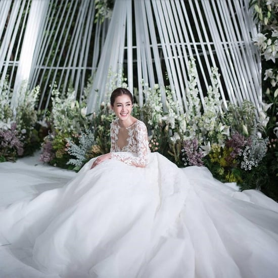 Noey Chotika's Wedding Dress