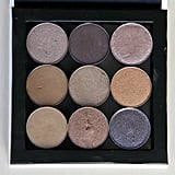If you'd rather have a smaller set of shadows, you can purchase smaller magnetic palettes like the A2o Lab Empty Magnetic Palette- Small White ($4). These are especially fantastic for traveling.