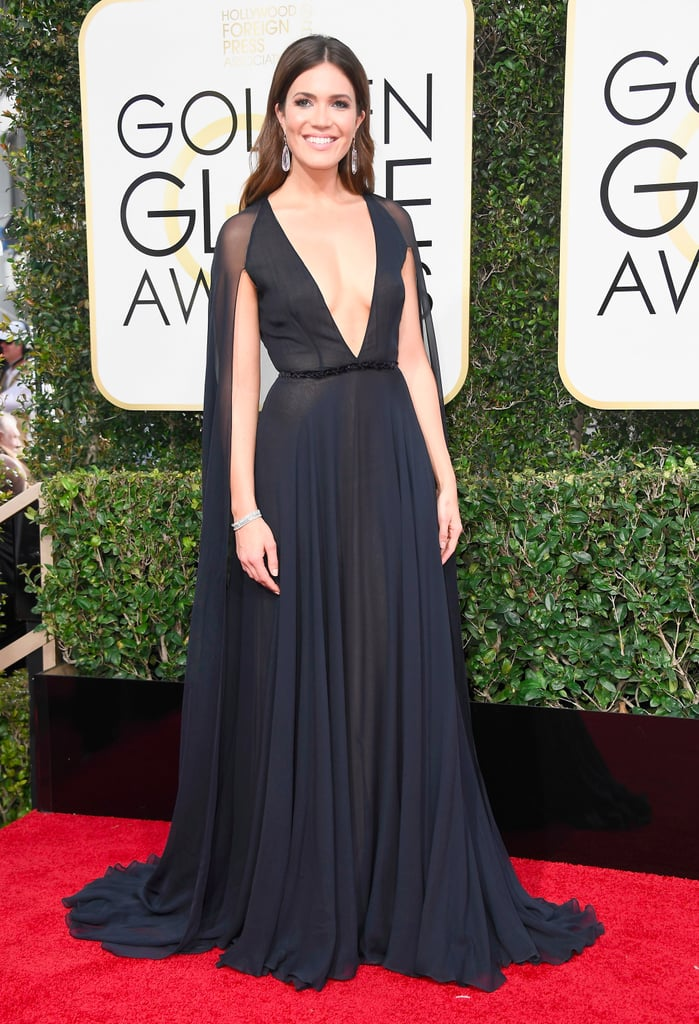 Mandy Moore's Dress at Golden Globe Awards 2017