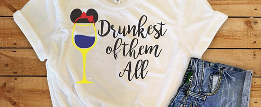 Funny Disney Shirts for Alcohol Drinkers