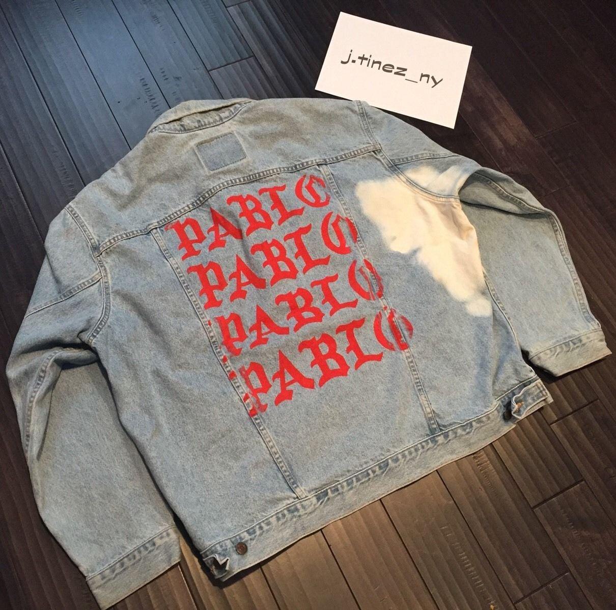 Kanye West the Life of Pablo Denim