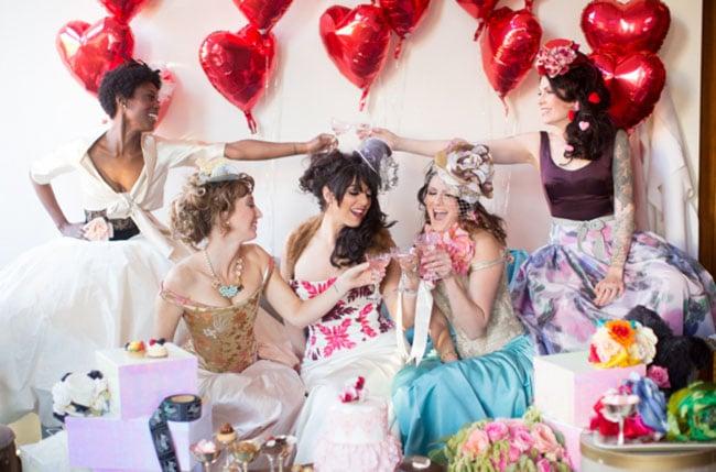 Ste&unk Marie Antoinette  sc 1 st  Popsugar & Steampunk Marie Antoinette | Bridal Shower Ideas | POPSUGAR Love ...