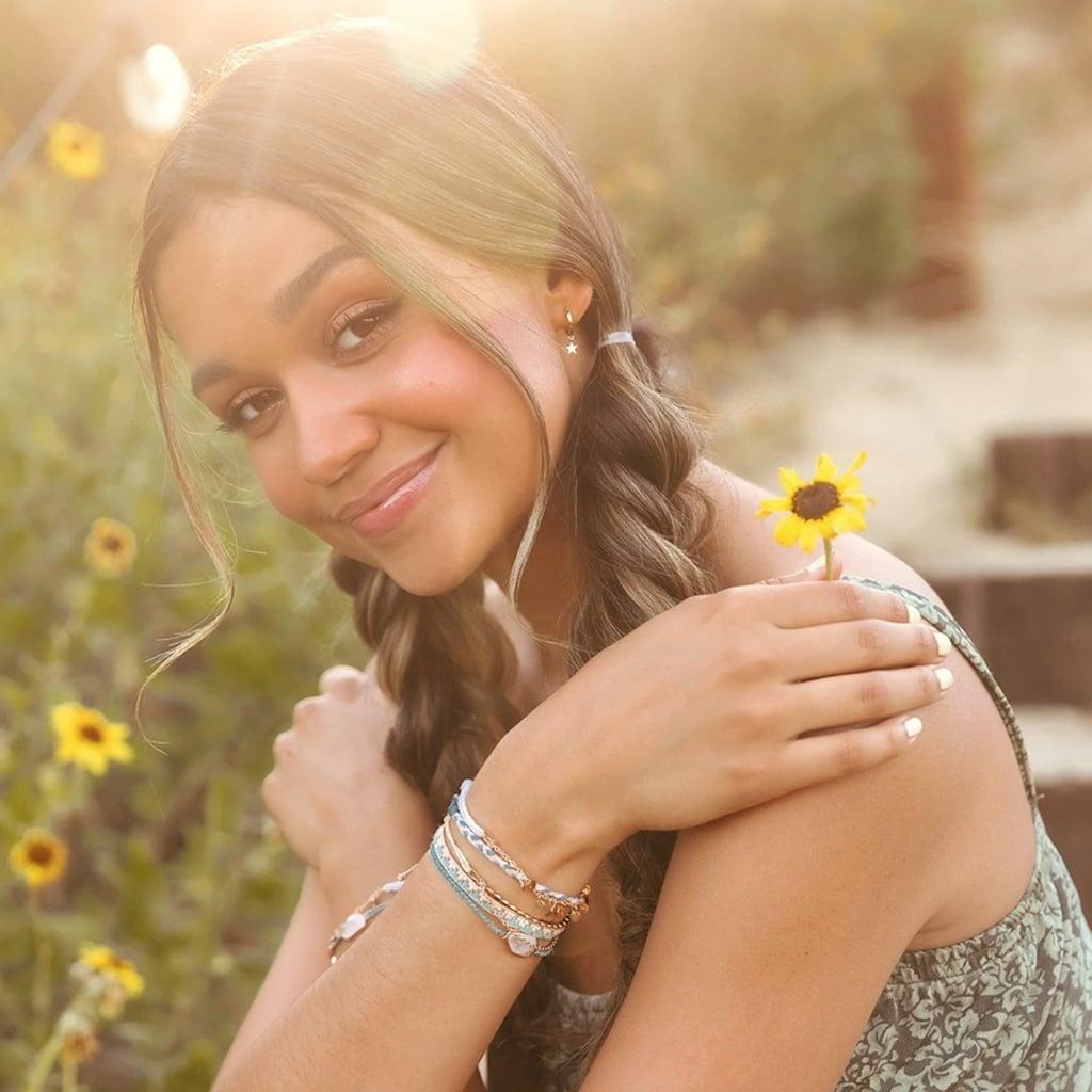 Madison Bailey Designs Cute Braided Bracelets For Pura Vida