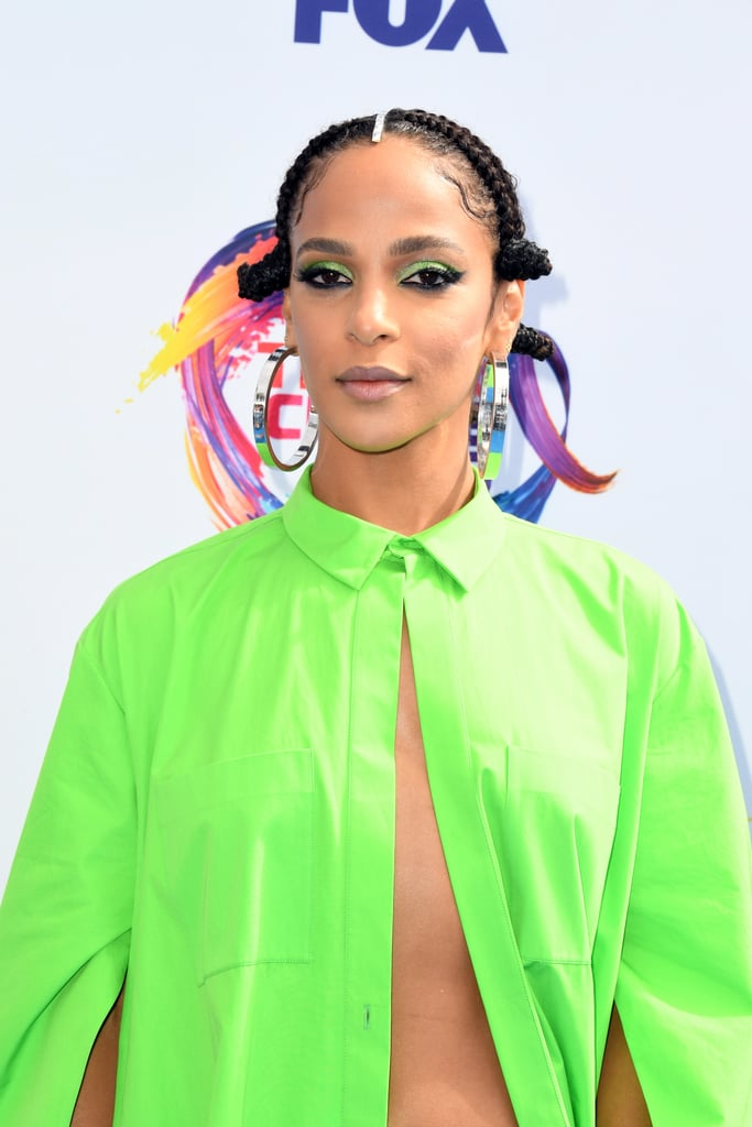 Megalyn Echikunwoke at the 2019 Teen Choice Awards
