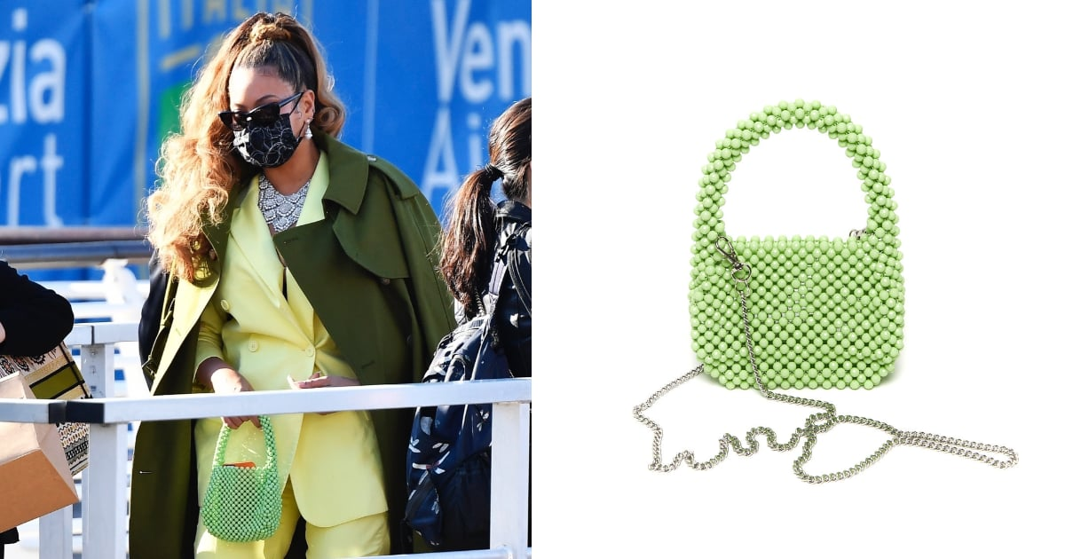 The Backstory Behind Beyoncé's Guava Green Beaded Bag, and Where You Can Shop It