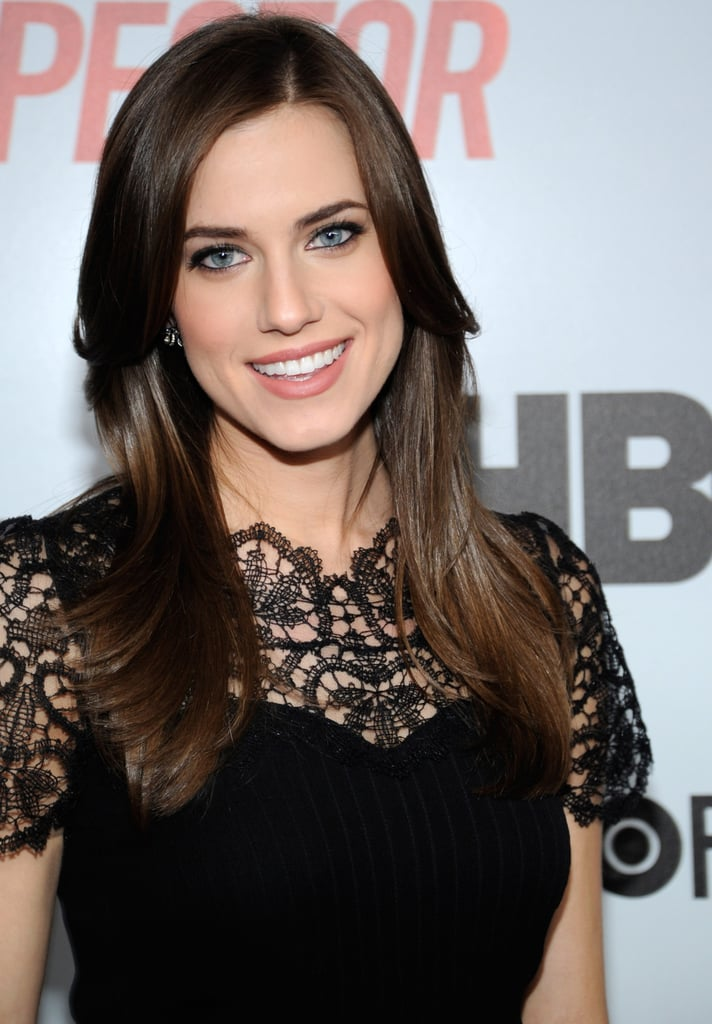 A classic blowout like Allison Williams' is a surefire way to smooth out hair and lock in shine. Use a boar-bristle brush, such as Mason Pearson Handy Single Boar Bristle Brush ($198), which helps to seal the hair cuticle for a high-shine finish.