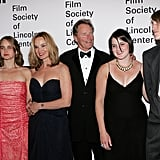 The couple posed with their family at a ceremony honoring Jessica at the Film Society of Lincoln Center in NYC in April 2006.