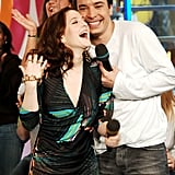 When They Shared a Laugh on MTV's TRL in 2005