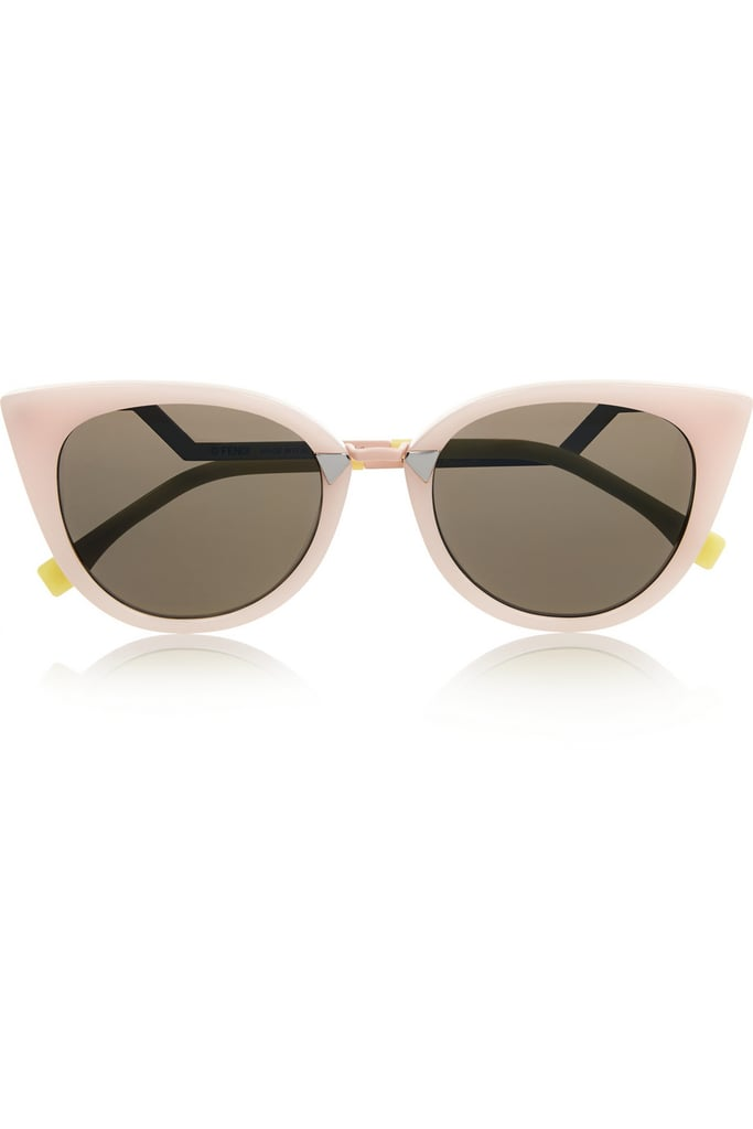 Fendi Cat-Eye Acetate Sunglasses ($455)