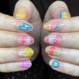 A Nail Artist Turned Neon Signs Into Our New Favorite Manicure - Here's How