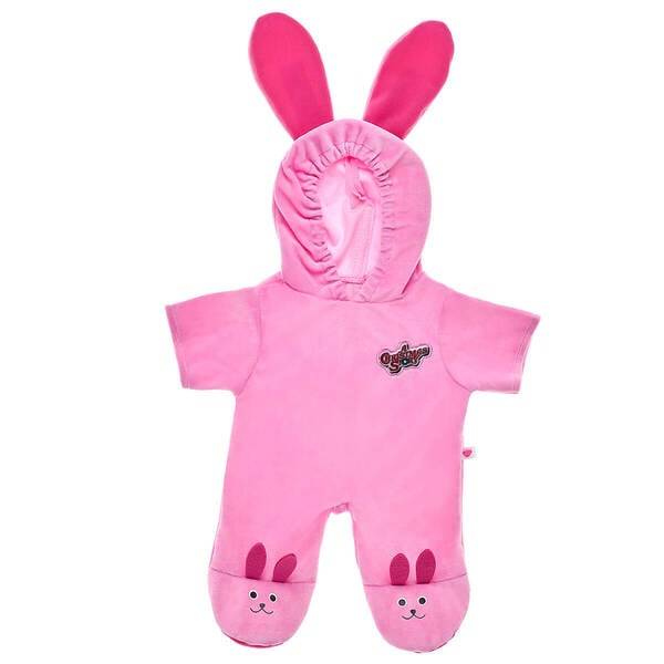 The Pink Bunny Suit Outfit That Comes in the A Christmas Story Build-A-Bear Gift Bundle