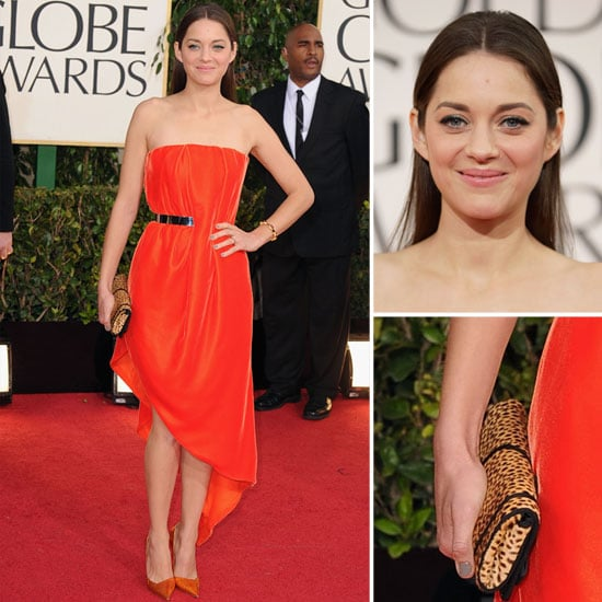 Marion Cotillard in Christian Dior at the 2013 Golden Globes