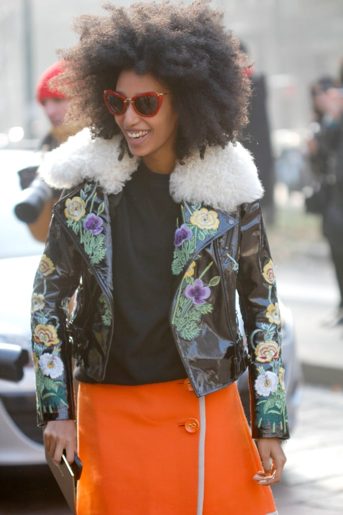 20 Celebrities Who Rock Natural Hair With Finesse