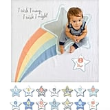 Shooting Star Baby Blanket