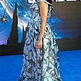 Zoe Saldana in Valentino
