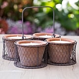Bamboo Citronella Candles Set ($68)