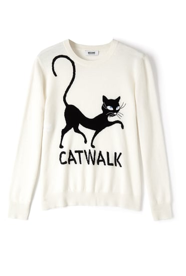 Moschino Cheap & Chic Catwalk Cashmere Jumper