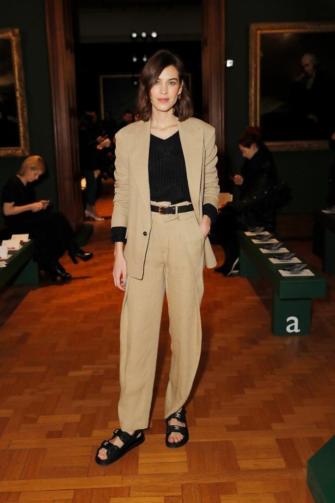 أليكسا تشونغ في عرض أزياء إردم