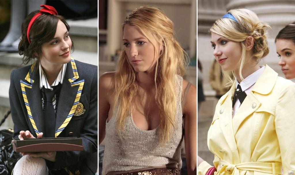 Astounding Best Gossip Girl Hair Moments Popsugar Beauty Short Hairstyles Gunalazisus