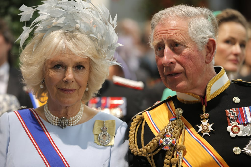 Charles, Prince of Wales, and Camilla, Duchess of Cornwall, arrived for the ceremony.