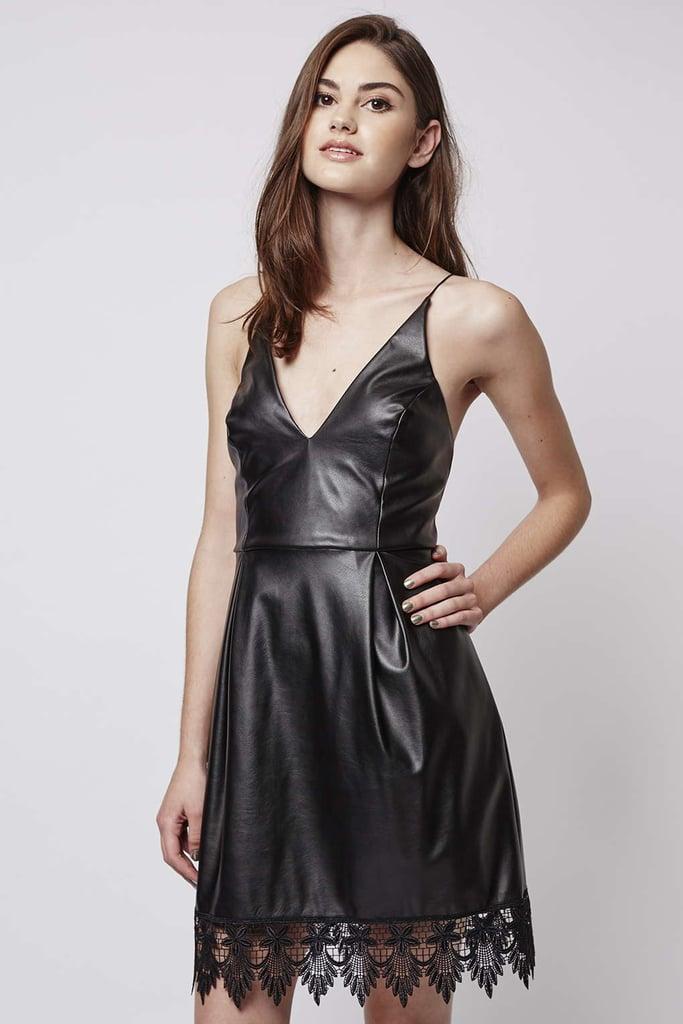 Topshop Plunge Front Dress ($115)
