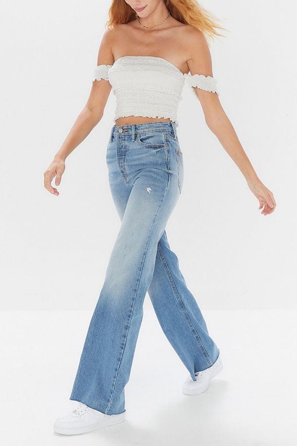Best Flared Jeans 2019   POPSUGAR Fashion