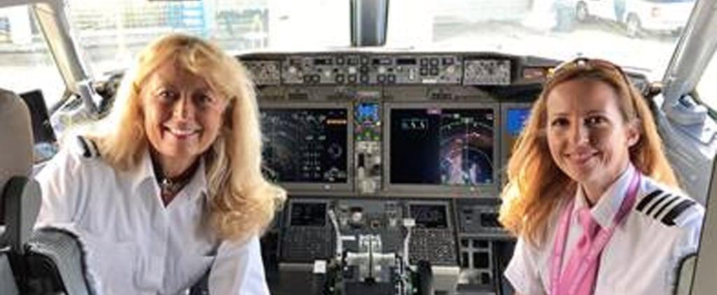 All-Female Flight Crew on Southwest Flight