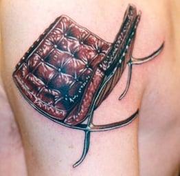Lounge Chair Tattoos