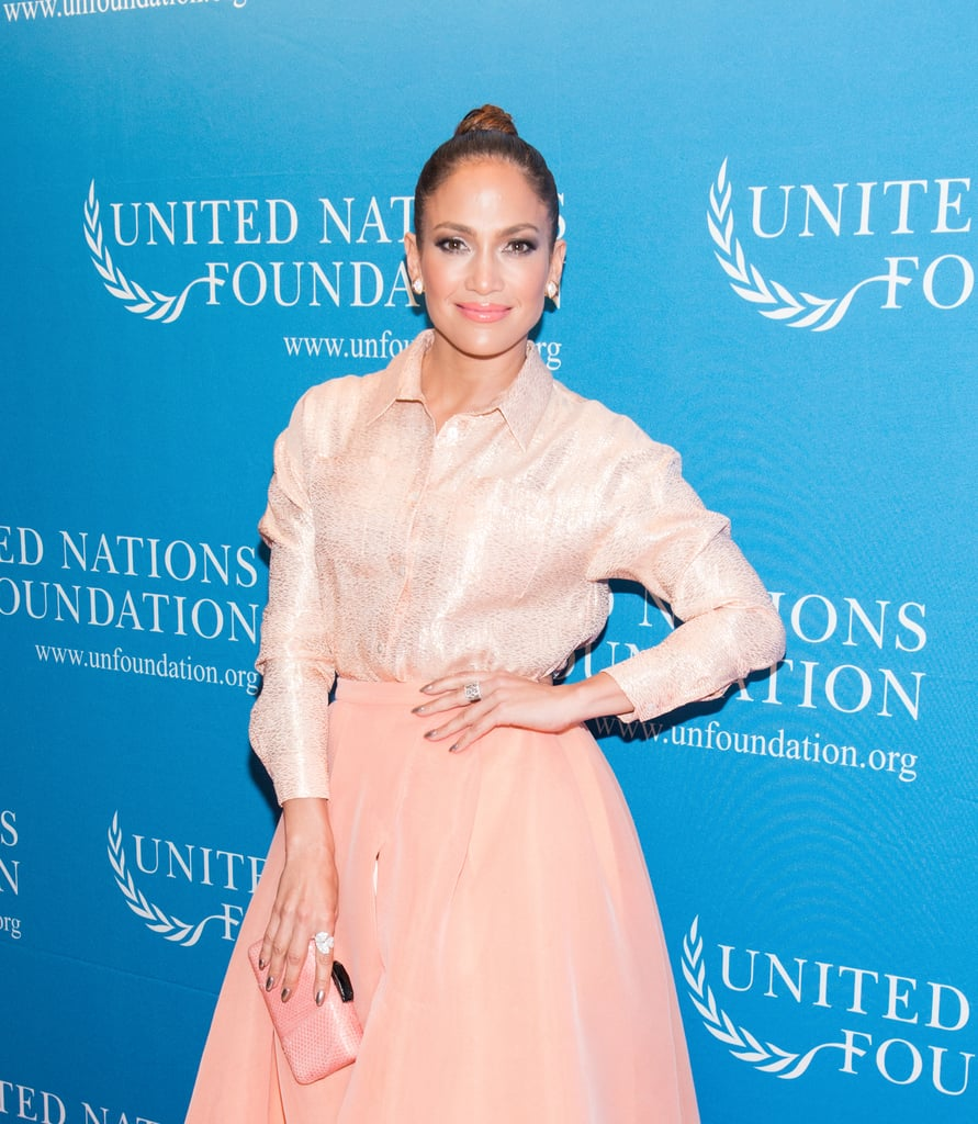 Jennifer Lopez Skipped the Naked Dress For Something Very Different