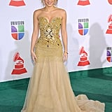 Shakira attended the 2011 Latin Grammys.