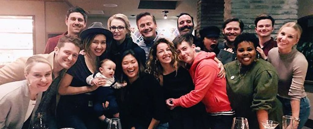 "The Cast of Glee Has a Big ""Family"" Reunion 1 Month After Mark Salling's Death"