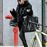 Mary-Kate Olsen spent the shopping with her sister.
