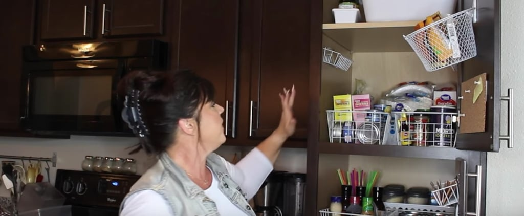 Woman Organises a Tiny Pantry With Dollar Tree Finds, and It's a Sight to Behold