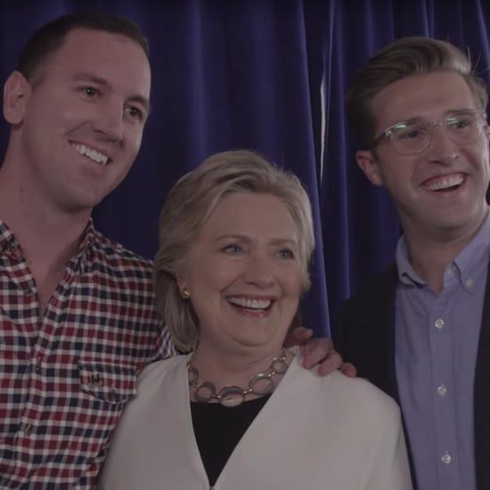 Couple Gets Engaged at Clinton Campaign Rally