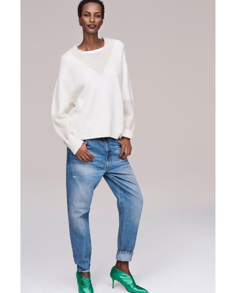 Zara The Reconstructed Vintage High Waist Jeans