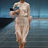 Crazy, but True, Prada Will Make You Want to Wear Feathers For Spring