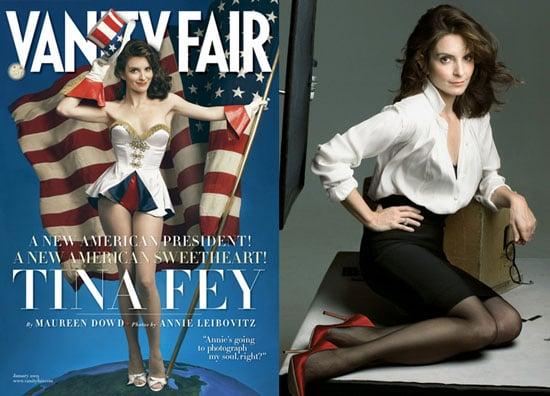Tina Fey in Vanity Fair