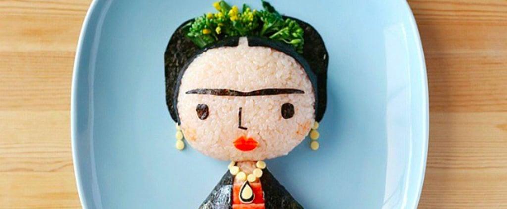 Frida Kahlo Food Portrait