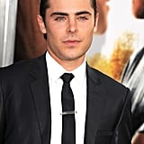 Zach Efron posed at the Lucky One premiere in LA.