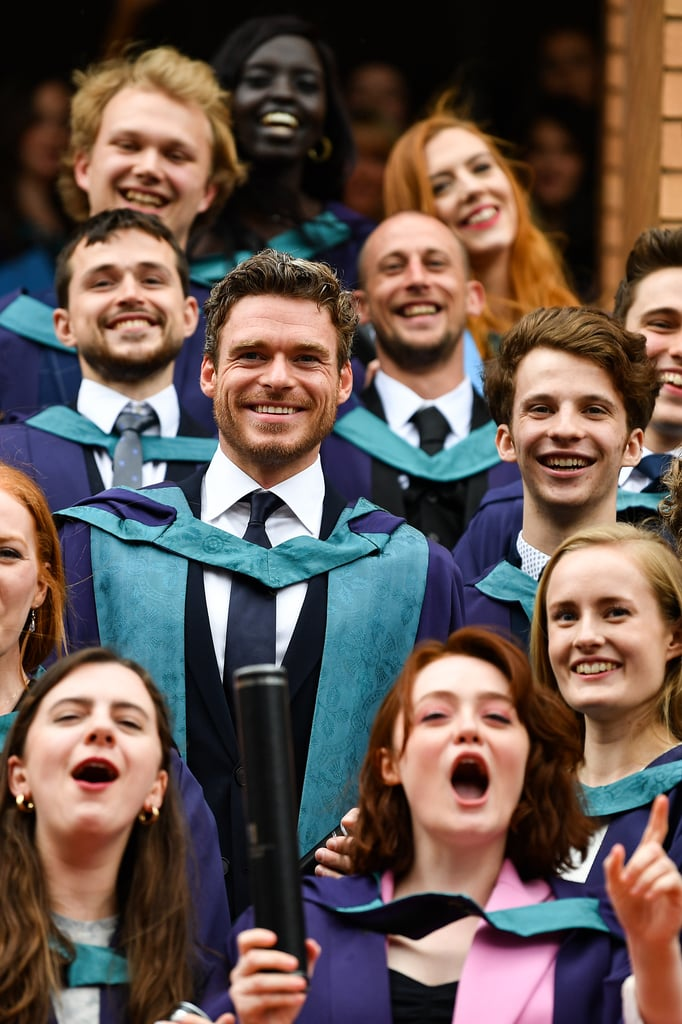 Richard Madden Missed His Own Graduation, but Returned to Become Doctor Madden 12 Years Later