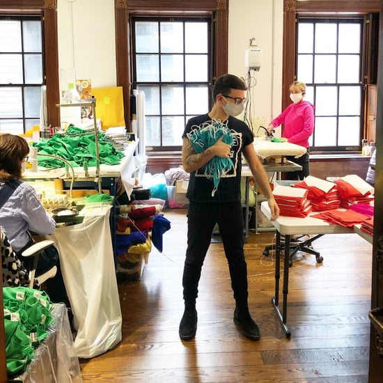 Why Christian Siriano Is Making Medical Masks in Color