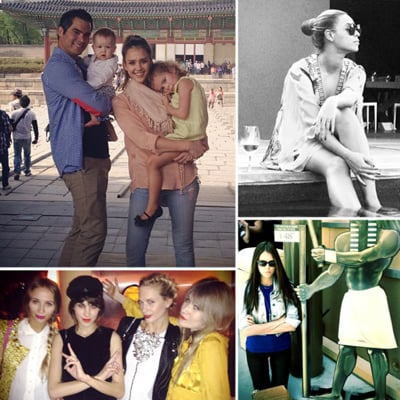 Pictures of Celebrities and Models on Twitter April 26, 2012