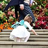 صور جورج وشارلوت في زفاف يوجيني